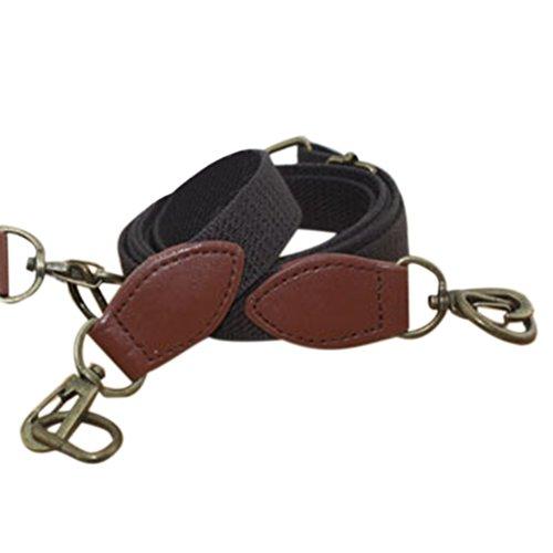 TopTie Messenger Tasche Ersatz Gepäck Schultertasche Gurt (Woven Messenger)