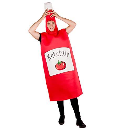 Fun Shack Costume, Ketchup, Taglia Unica Uomo