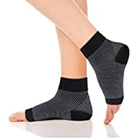 Ueither Kompressionssocken Fußgelenk Bandage für Schmerzlinderung bei Plantarfasziitis, Knöchelschmerzen und Schwellungen... preisvergleich bei billige-tabletten.eu