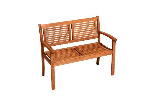 Gartenbank CORDOBA 2-sitzer, Eukalyptus Holz, FSC-zertifiziert