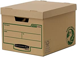 Bankers Box Earth Series Heavy Duty Box - Pack of 10