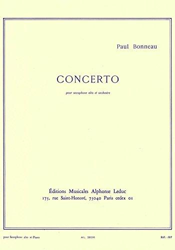 Concerto pour saxophone alto et orchestr...