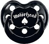 Motörhead Logo Schnuller schwarz 0-6 Monate