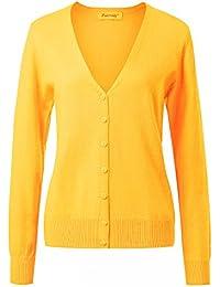 Suchergebnis auf für: kaschmir strickjacke: Bekleidung