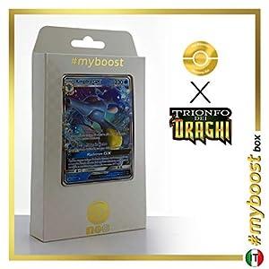Kingdra-GX 18/70 - #myboost X Sole E Luna 7.5 Trionfo dei Draghi - Box de 10 Cartas Pokémon Italiano