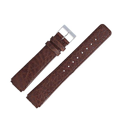 Skagen Uhrenarmband 20 mm Leder Braun - Uhrband 331LSL1