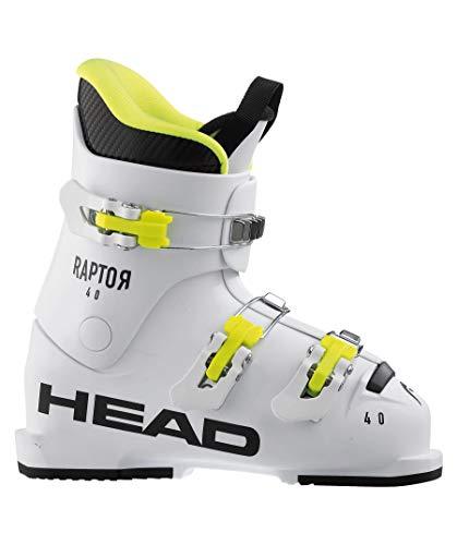 HEAD Kinder Raptor 40 Skischuhe, White, 215