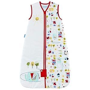 Grobag – Saco de dormir para bebé (2,5 Tog, 100% algodón, unisex) multicolor Talla:0-6 meses