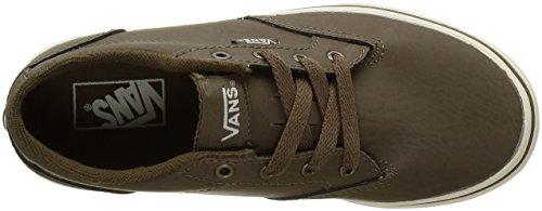 Vans V003007AA, Scarpe da Ginnastica Basse Ragazzo Khaki (Leather)