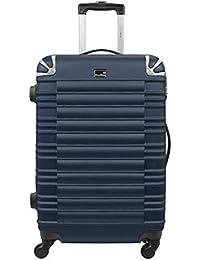 Valise cabine rigide Kinston Hard Case 46 cm Bleu