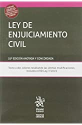 Descargar gratis Ley De Enjuiciamiento Civil 35ª edición 2019 Anotada y Concordada en .epub, .pdf o .mobi