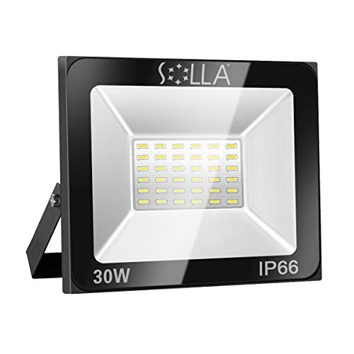 Foco LED 30W IP66 Luz Seguridad Exterior Impermeable