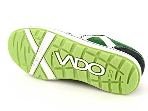 Vado , Chaussures de ville à lacets pour garçon vert vert Vert