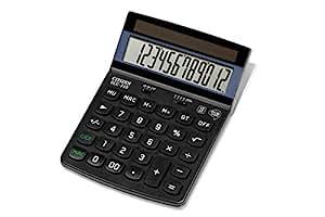 Citizen ECC-310 Eco Desktop Calculator - Black