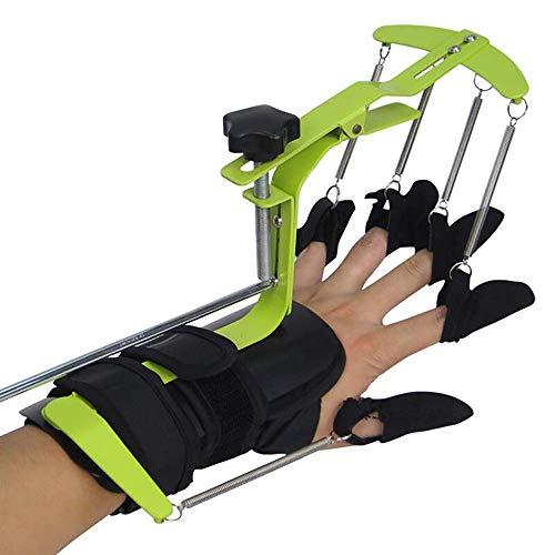 HYRL Finger-Handgelenk-Orthesen-Trainingsgerät, Handgelenk-Orthesen-Schutz-Klammer-Handrehabilitations-Trainings-Finger-Orthesen Für Schlaganfall-Hemiplegie-Patienten -