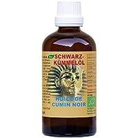 Schwarzkümmelöl Bio - Nigella sativa kaltgepresst aus Ägypten 100ml preisvergleich bei billige-tabletten.eu