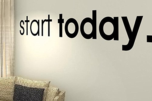 Start Heute–Gesundheit Training Motivation Workout Gym Fitness Herz Life Family Love House zusammen Zitate Wand Vinyl Aufkleber Aufkleber Art Decor DIY