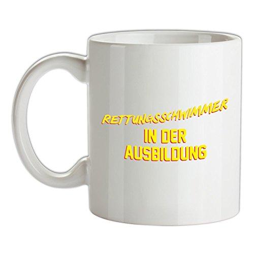 Rettungsschwimmer in der Ausbildung - Bedruckte Kaffee- und Teetasse (Rettungsschwimmer-ausbildung)