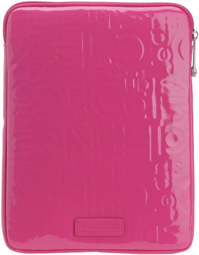 Calvin Klein Jeans Maggie CSY307ABP00, I-Pad Hülle, Violett (Framboise 450), 21x27x2 cm (B x H x T) (Hot Pink-schuh-tasche)