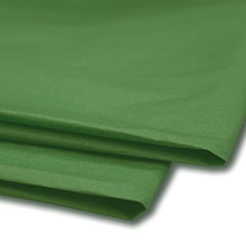 25 x Green Tissue Paper / Gift Wrap / Wrapping Paper Sheets (20 x 30) by Swoosh Supplies