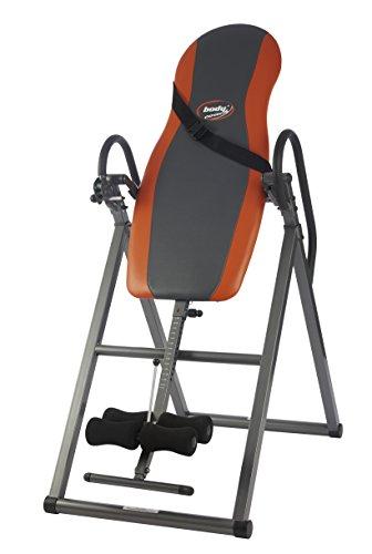 BODYCOACH Schwerkrafttrainer 28550 – Inversionsbank Rückentrainer verstellbarer Neigungswinkel Inversionstisch mit Sicherheitsgurt klappbar - 147-198 cm Größe bis 100 kg belastbar