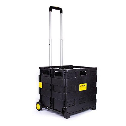 Preisvergleich Produktbild Carbest Transportwagen für Gasflaschen faltbar belastbar bis 35 Kg für Wohnwagen und Wohnmobil
