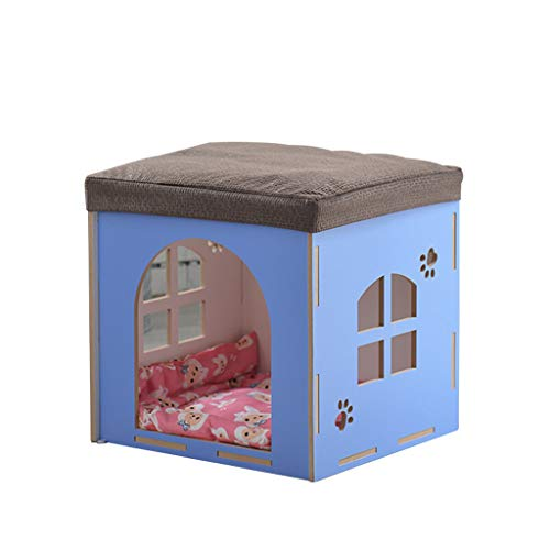 Schuh Bench (JBP Max Dog Bed Cat Nest PET Nest PET Bett 42 * 44Cm Schuhe Bench Kennel Cat Wurf Abnehmbare Und Waschbare Vier Jahreszeiten Universelle Haus Tier Nest Speicher,D)