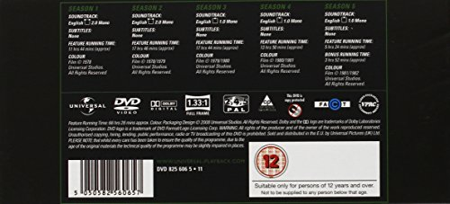 Image of The Incredible Hulk: The Complete Seasons 1-5 [DVD] [1977]