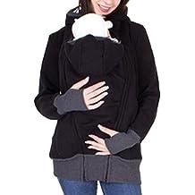 EMMA Las Mujeres de Invierno de algodón con Capucha 3 en 1 Llevar Chaqueta  para mamá b1e3a6b67580