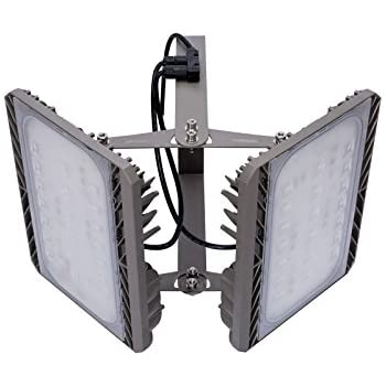 80 led solaire clairage ext rieur avec d tecteur de for Projecteur exterieur double