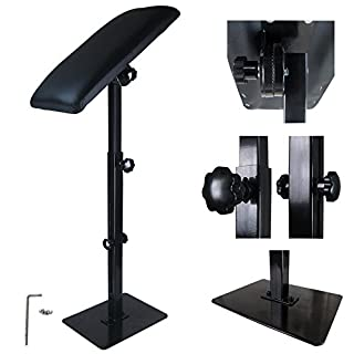Solong Tattoo® Heavy Duty Iron Tattoo Arm Rest Leg Rest Full Adjustable Armrest Kit Tattoo Supply TA209