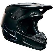 Fox Helm V1 Matte - Casco de ciclismo BMX integral, color negro, talla M