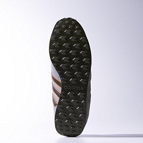adidas Neo City Racer Herren Schuhe grey/black/sorang