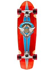 Mindless Campus 3 Cruiser Board 7.75in - Red by Mindless Longboards