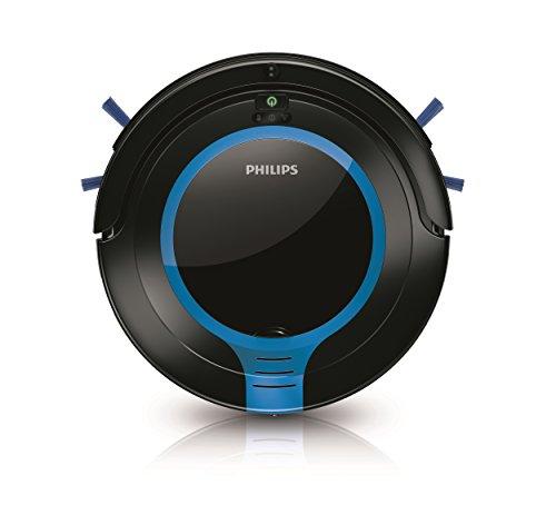 Philips FC8700/01 Robot Aspirador con diseño Compacto 6 cm, Sistema de Limpieza de 2 Fases,...