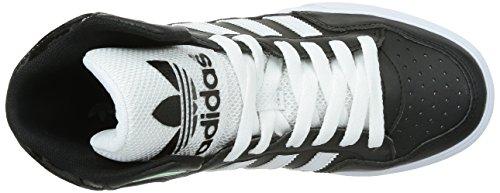 adidas Damen Extaball High-Top, Blau Schwarz (Core Black/Ftwr White/Frozen Green F15)