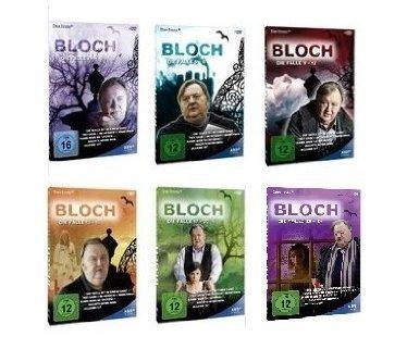 Bloch die Fälle (1-24) - Staffel 1-6 Komplett - Set [12 DVDs]
