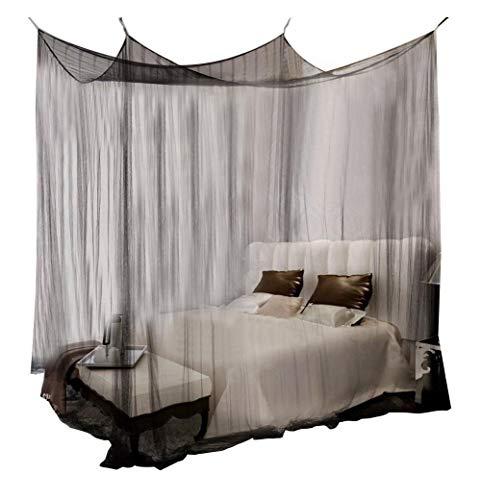Wifehelper Mosquito Net 4 Poste Esquina Canopy Mosquito