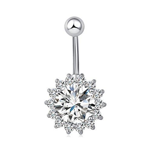 vcmart-piercing-banane-de-nombril-soleil-fleur-en-acier-chirurgical-316l-plaqu-platine-diamant-zirco