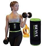 Beyle Waist Trimmer, Waist Trainer Corset for Weight Loss, Adjustable Stomach Wraps Sweat