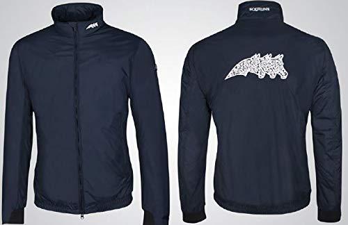 Equiline Unisex Jacke BART Farbe Reitbekleidung Navy, Kleidergrößen XL