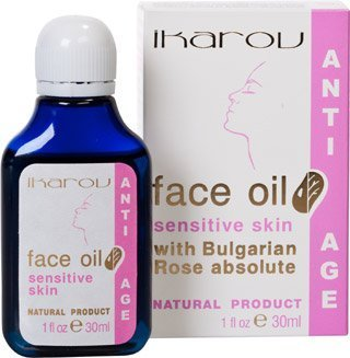Oil for Sensitive Skin Type with Bulgarian Rose Absolute. Natural Product. Anti Age by IKAROV