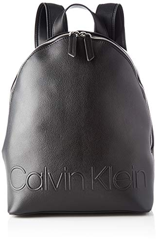 Calvin Klein Damen Rapid Backpack Umhängetasche, Schwarz (Black), 35x26x15cm