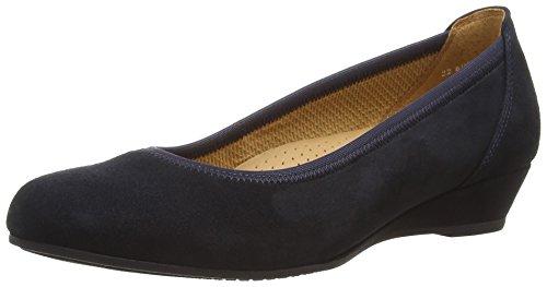 Gabor Shoes 22.690_Gabor Damen Durchgängies Plateau Pumps Blau (Nightblue)