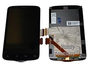 HTC Desire S LCD Display Touch Screen Komplett Front Glas Version 1 Original Neu
