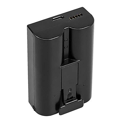 Wiederaufladbarer 3,65-V-Lithium-Ionen-Akku, kompatibel mit Ring Video Doorbell und Spotlight Cam Battery (Black) (Cam-akku)
