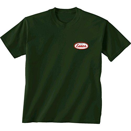 New World Grafiken Miami NCAA Mechaniker Short Sleeve, Unisex, Miami Mechanic, waldgrün -