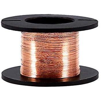5pcs Emaillierte Kupferdraht Magnet Wicklungs Draht 0.1mm Stärke 15m ...
