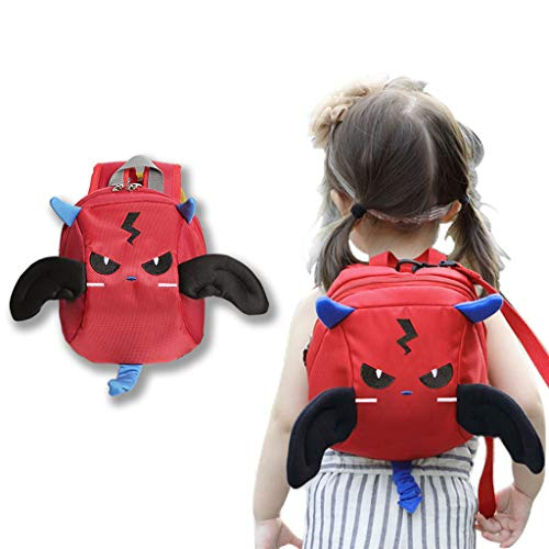 LY-LD Anti Lost Rucksack Baby Safety Walking Harness Leashes Für Kleinkinder Outdoor Safety Hook and Loop Belt 1-5 Old Kids,C