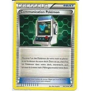 Carte Pokémon DRESSEUR COMMUNICATION POKEMON 99/114 NOIR & ET BLANC FR NEUVE